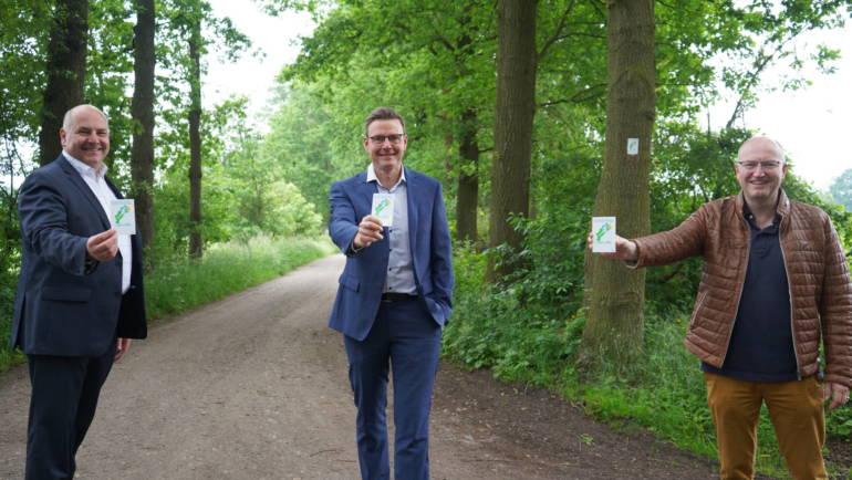 Grafschaftslauf: Strecke ist jetzt für Läufer, Wanderer und Radler ausgeschildert